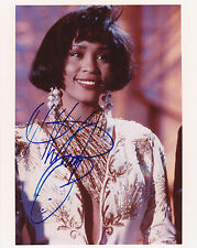 Whitney Houston ++ Autogramm ++ R&B & Soul- Sängerin ++ USA