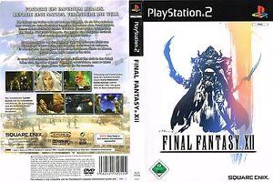 Final Fantasy XII (Sony PlayStation 2, 2007, DVD-Box)