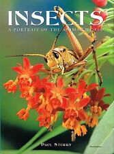 NEW INSECT BOOK Insects: A Portrait of the Animal World - Paul Sterry (Hardback)