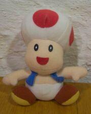 """Nintendo Mario Bros. TOAD MUSHROOM 5"""" Stuffed Animal"""