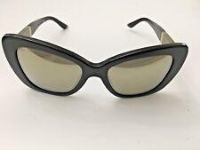 Versace Mod. 4305Q GB1/5A BLACK Sunglasses Gold Mirror lenses