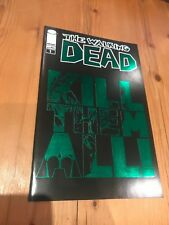 """The Walking Dead The Governor Special ECC Green Foil """"Kill The All"""" Variant NM"""