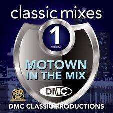 DMC Classic Mixes - Motown In The Mix Vol 1 Music CD Ft Tamla Motown Northern