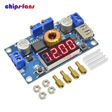 5A CC/CV LED Drive Lithium charger Power Step-down Module W/ USB Voltmeter