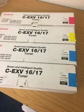 Compatible Canon C-EXV 16 17 Cyan Magenta Toner Cartridge CLC4040 iR C4080i