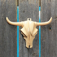 Steer Head Wall Decoration Animal Skull Cowboy Longhorn Decor Hanging Sign