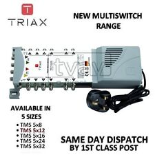 TRIAX New ECO Multiswitch Range - TMS 5 x 12 Satellite Multiswitch