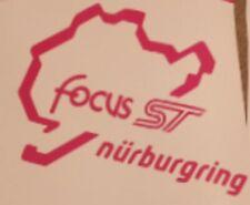 Ford Focus ST Nurburgring Pegatina Vinilo (elige un color de pantalla Gráfico)