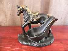 Vintage Horse Figurine Pipe Rest Holder