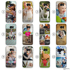 PERSONALIZED PHOTO EFFECTS, INITIALS PLASTIC PHONE CASE FOR SAMSUNG