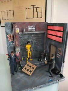 """DIORAMA 1/12 pour figurines 6"""", NECA, MEZCO, MARVEL, DC...etc."""