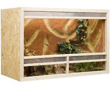 Holz Terrarium 120 x 60 x 80 cm OSB Platte, Frontbelüftung (L x T x H)