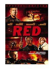 Red  DVD Bruce Willis, Helen Mirren, Morgan Freeman, Mary-Louise Parker, Karl Ur