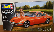 Revell Germany 7680 1970's Opel GT Plastic model Car kit  1/32
