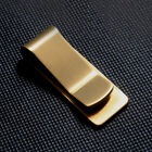 Money Clip Classic Cash and Credit Card Holder Wallet Slim Polished Brass