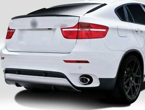 M PERFORMANCE STYLE REAR TRUNK LIP SPOILER WING FOR BMW X6 F16 & F86 X6M