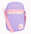 "Molang Phone Bag Mini Crossbody Bag Kids Gift Pink Purple 4.7"" x 7.4"""