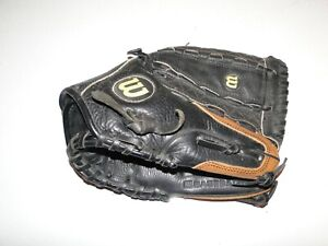 """Wilson A0500 Youth 12""""  Baseball Glove Black Right Hand Throwing"""