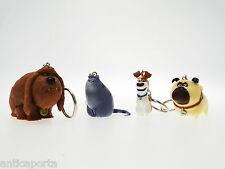 Portachiavi Pets Originali 4 cm Universal Illumination Max Duke Mel vita animali