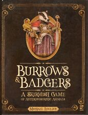 Osprey Wargames: Burrows & Badgers : A skirmish game of Anthropomorphic animals