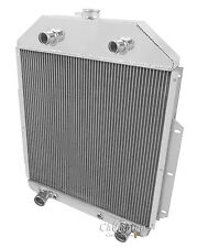 1948 1949 1950 1951 1952 Ford F1 F2 F3 Truck 3 Row RS Radiator (Flathead V8)