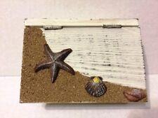 Decorative wooden beach them jewelry box