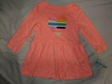 Cat & Jack Heart Dress (Peach) (5T) NWT