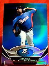 2011 Bowman Platinum Prospects Blue Miguel De Los Santos #BPP13 Card 041 /199