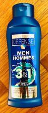 3-In-1 Shampoo Conditioner Body Wash Daily Defense Men 15oz ICE Cruelty Free NEW