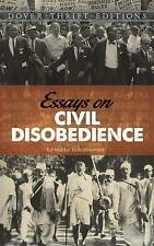 Essays on Civil Disobedience (Dover Thrift Editions), 0486793818, New Book