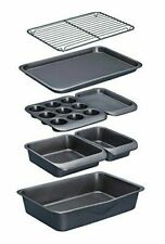 Kitchencraft Masterclass Smart Space Non Stick Carbon Steel Stackable Bakeware 7