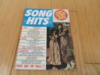1972 SONG HITS MAGAZINE Music TONY ORLANDO & DAWN LITTLE RICHARD MERLE HAGGARD