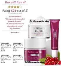 Oriflame Optimals Age Revive Day + Night + Eye Creams