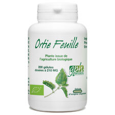 Ortie Bio Feuille - 200 gélules végétales