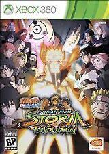 Naruto Shippuden: Ultimate Ninja Storm Revolution USED SEALED (Xbox 360, 2014)