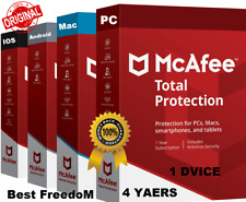 McAfee Total Antivirus 2020 🔰 1 Devices