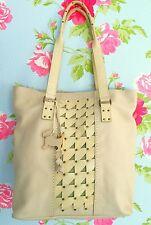 RADLEY cream LARGE TOTE BAG handbag shopper workbag VERY SOFT extra DOG TAG NEW