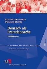 Deutsch als Fremdsprache - Hans-Werner Huneke / Wolfgang Steinig - 9783503137657