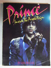PRINCE INSIDE THE PURPLE REIGN 1984 PAPERBACK BOOK JON BREAM MACMILLAN PUBLISHER