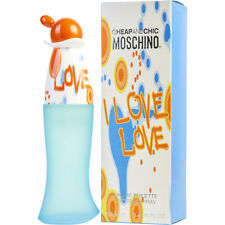 I LOVE LOVE 100ml EAU DE TOILETTE SPRAY FOR WOMEN BY MOSCHINO -- NEW EDT PERFUME
