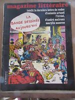Magazine Littéraire N°95: la bande dessinée aujourd'hui- Antonin Artaud-Malraux
