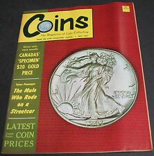 Vintage - Coins Magazine 1967 Canada's $20 Gold, Coins Of Japan, New Zealand +