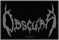 OBSCURA - Logo Patch Aufnäher 5x10cm