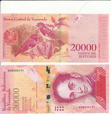 VENEZUELA - 20000 Bolivares 2016 (2017) Unc Pick New