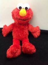 "2016 Tickle Me Elmo Talking Plush Doll Sesame Street Hasbro Over 13"" Works Great"