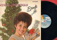 Lee, Brenda - Merry Christmas MCA Vinyl LP Record Free Shipping