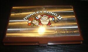 Jeu électronique vintage Nintendo Game & Watch Multi Screen Donkey Kong 2