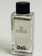 D&G 10 LA ROUE DE LA FORTUNE EAU DE TOILETTE .67 OZ