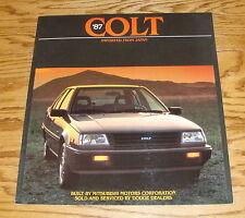 Original 1987 Dodge Colt Sales Brochure 87