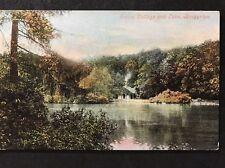 RP Vintage Postcard - Shropshire #B3 - Swiss Cottage And Lake, Brogyntyn 1906